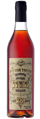 The Bitter Truth Rye Whiskey 24 years