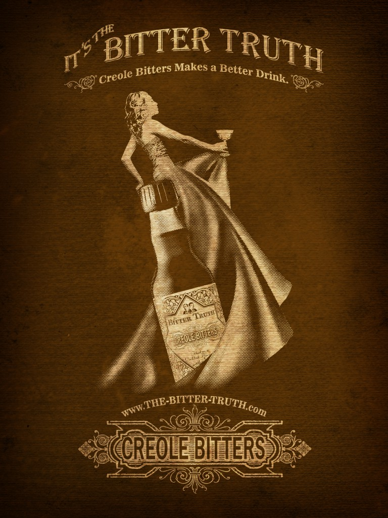 The Bitter Truth Creole Bitters Ad
