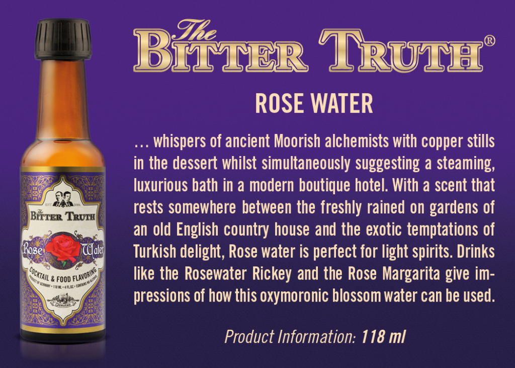 Shelf Talker The Bitter Rose Water
