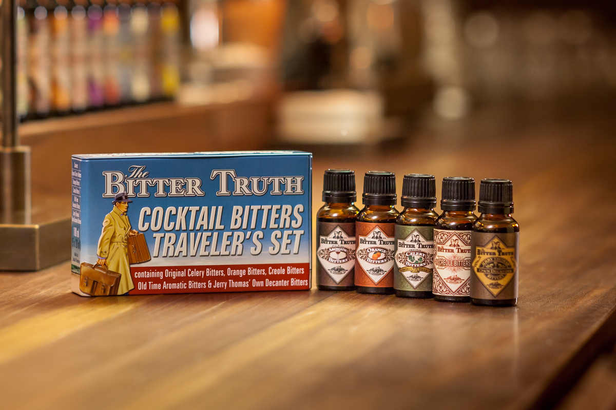The BItter Truth Travelers Set Bitters Header