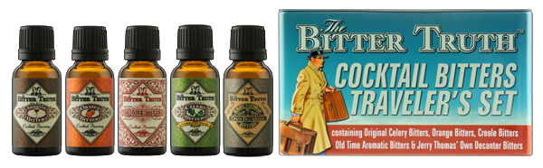 The Bitter Truth Bitters Travel Set