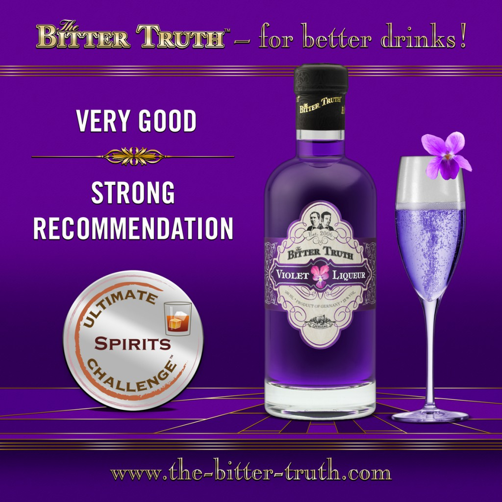 The Bitter Truth - Violet Liqueur