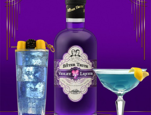 Enjoy Drinks with The Bitter Truth Violet Liqueur