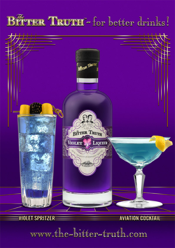 The Bitter Truth Violet Liqueur Drinks Recommendations