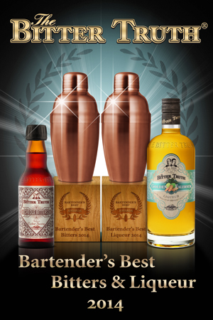 Bartenders Best Award Best Bitters and Best Liqueur