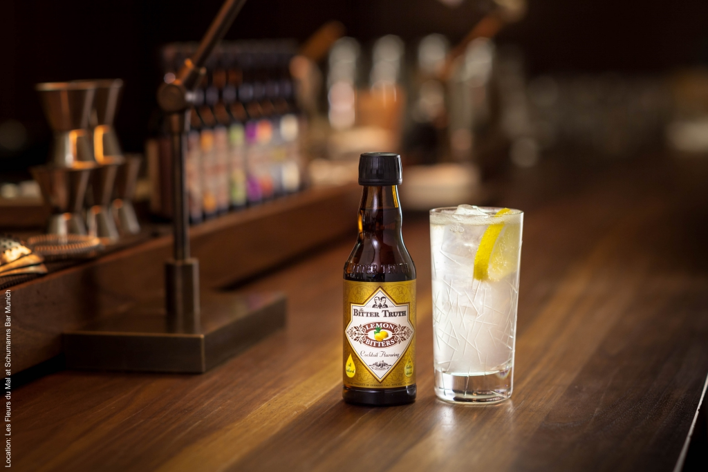 The Bitter Truth Lemon Bitters with Gin Fizz