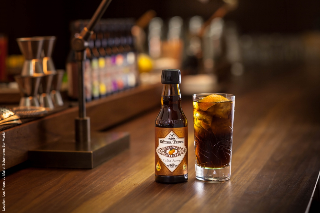 The Bitter Truth Orange Bitters with Rum & Cola