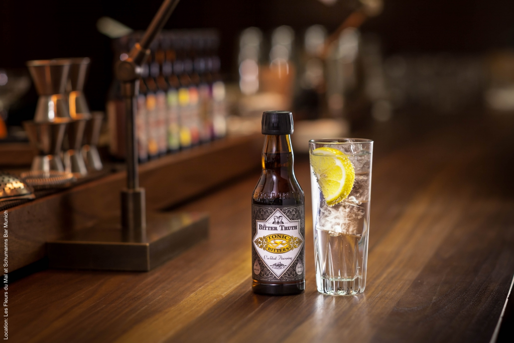 The Bitter Truth Tonic Bitters with Gin & Tonic