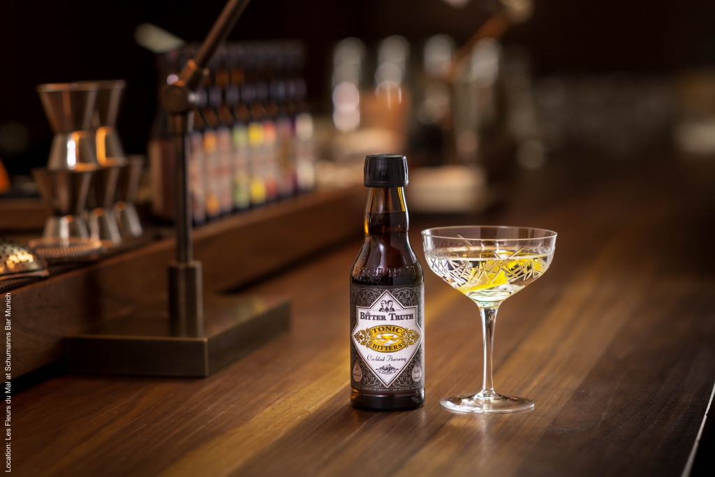 The Bitter Truth Tonic Bitters & Dry Martini Cocktail