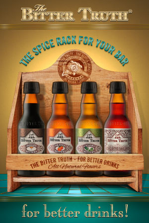 The Bitter Truth Spice Rack for your Bar