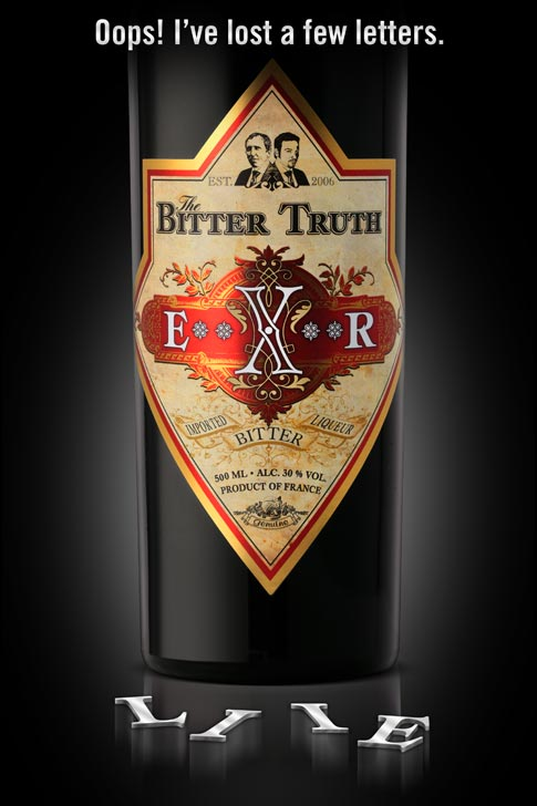 The Bitter Truth Elixier is now E**X**R Bitter Liqueur