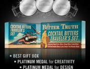 The Bitter Truth Travelers Set 3 Platinum Awards