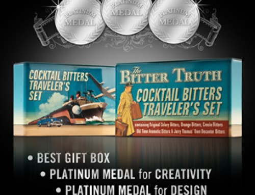 The Bitter Truth Travelers Set voted Best Gift Box