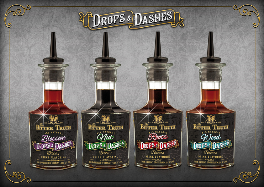The Bitter Truth Drops & Dashes Bitters Range