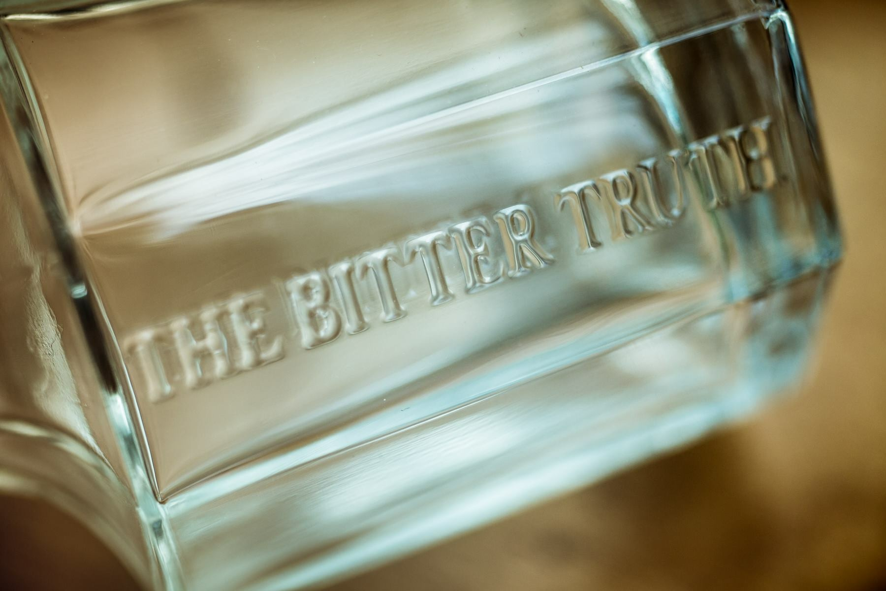 The Bitter Truth 10th anniversary decanter bottle