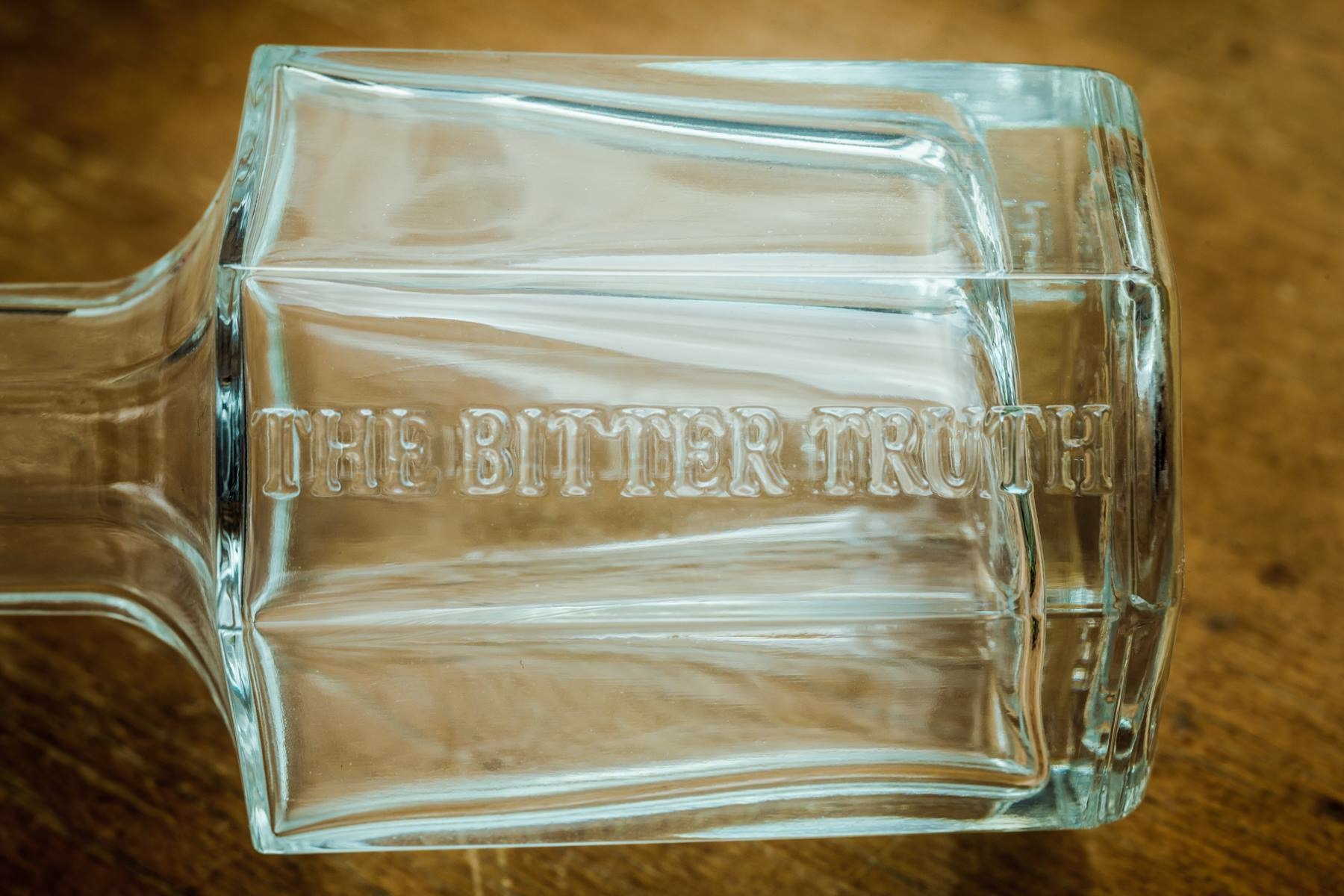 The Bitter Truth 10th anniversary decanter