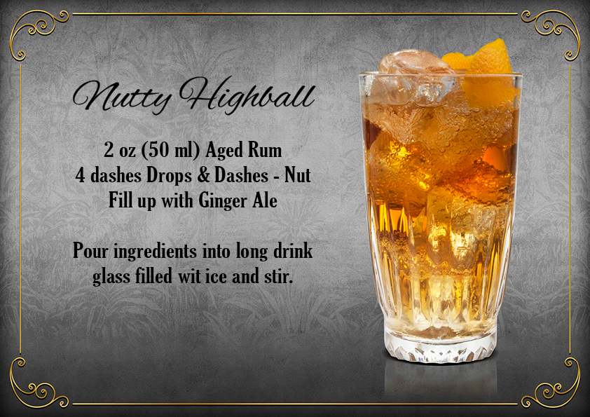 The Bitter Truth Drops & Dashes Nutty Highball