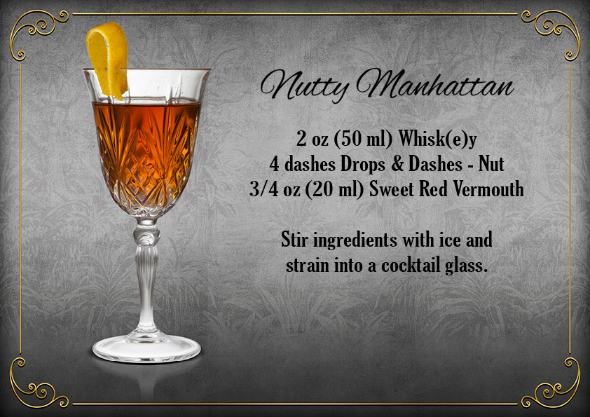 The Bitter Truth Drops & Dashes Nutty Manhattan