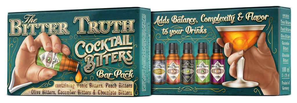 The Bitter Truth Bitters Bar Pack