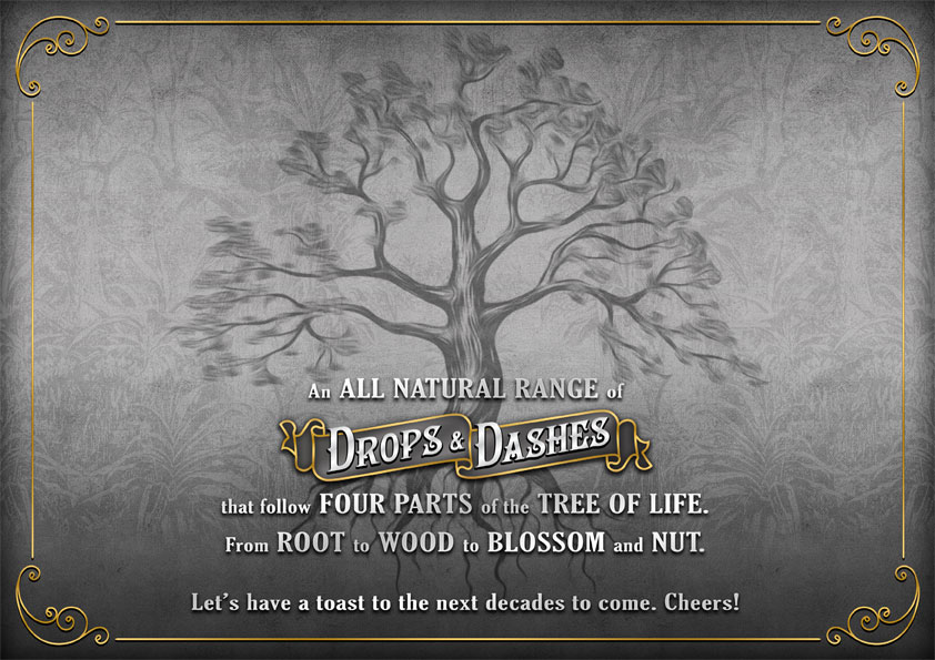 The Bitter Truth Drops & Dashes Tree of Life
