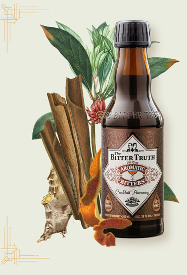 The Bitter Truth Aromatic Bitters Illustration with spices