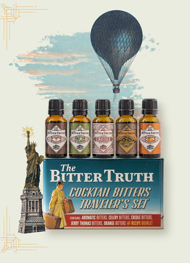 Bitters Traveler`s Set with Balloon