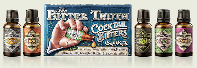 Cocktail Bitters Bar Pack by The Bitter Truth company