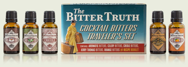Cocktail Bitters Traveler`s Set by The Bitter Truth company