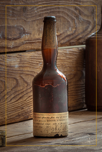 Bokers Bitters Original Bottle 1900