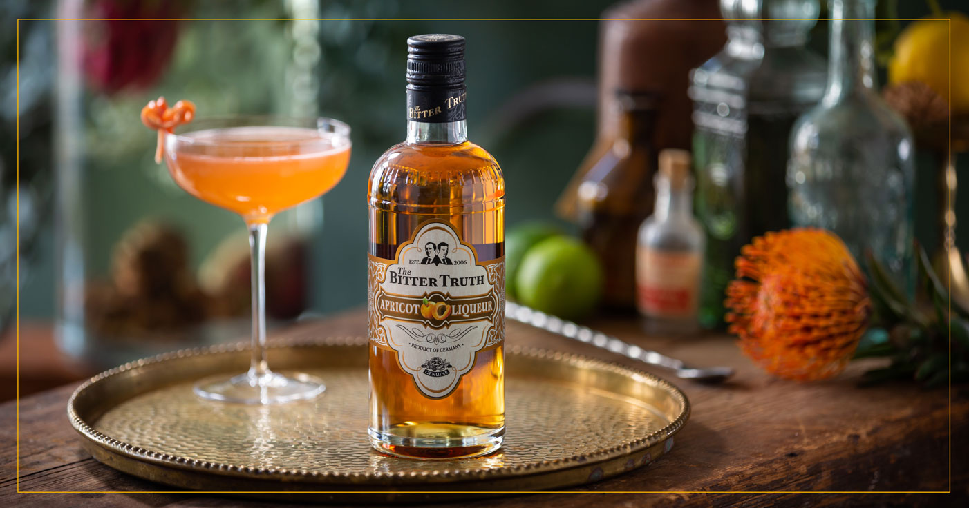 The Bitter Truth Apricot Liqueur with Pendennis Cocktail